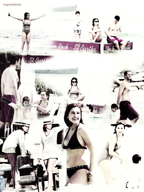 Mariska en vacances:Février 2010