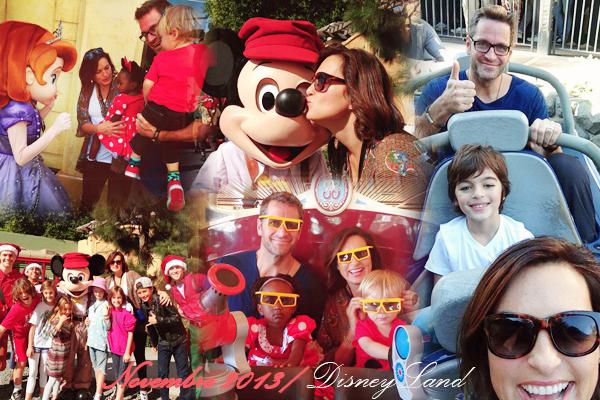 Mariska sur le tournage / Photos et avec ses enfants / Photos et à DisneyLand en famille / Photos
