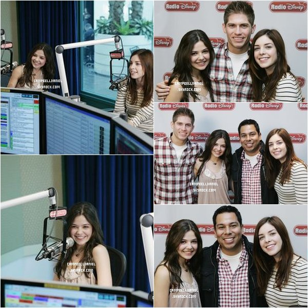 . Lundi 11 janvier 2010 : Notre ravisante Danielle était à la Radio Interview Disney..