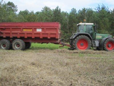 Moisson du blé 2011