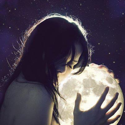 A défaut de soleil on se contente de la lune ;)