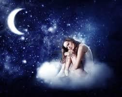 Sur un nuage entre la lune et les étoiles,,,