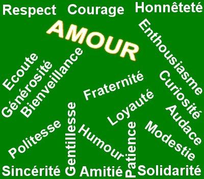 Les valeurs de la vie !