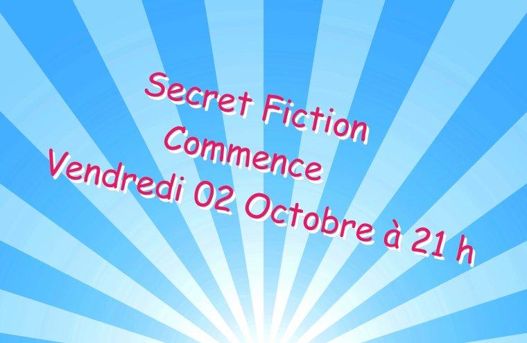 SecretStoryFiction débarque VENDREDI 02 OCTOBRE.|Explication.