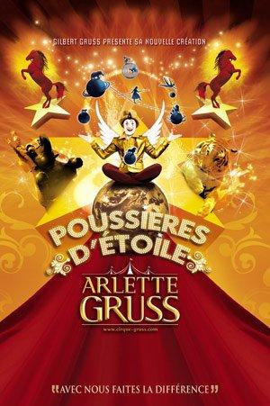 affiche du cirque arlette gruss