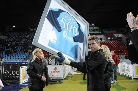 <3 Landreau 500 matchs<3
