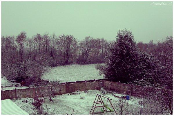 Les paysages enneigés c'est merveilleux.