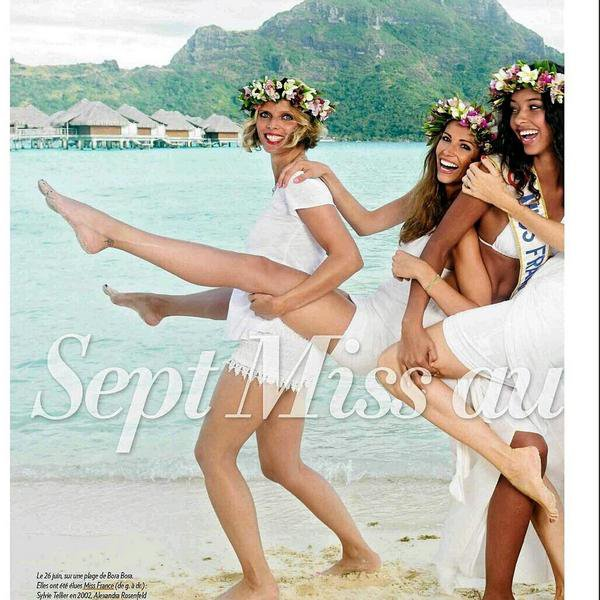 Miss France et ex Miss Presse du mois de juillet