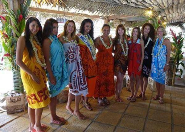 Les Miss  à Tahiti