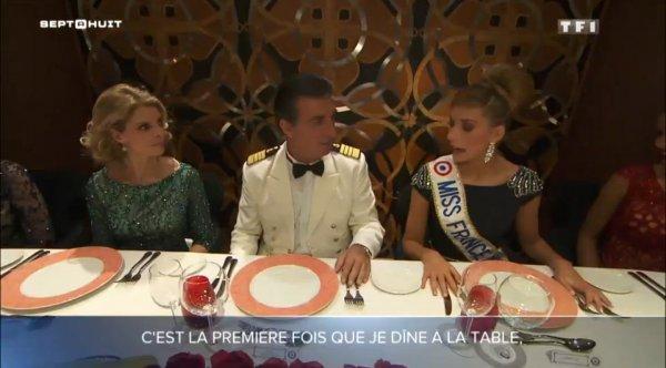 Voyage d'intégration de Camille avec 5 anciennes Miss France