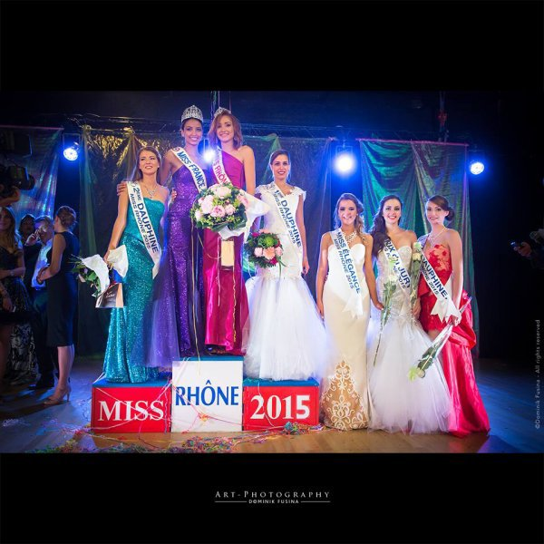 Flora - Election Miss Rhone 2015