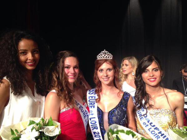 Flora - Election Miss Eure et Loire 2015