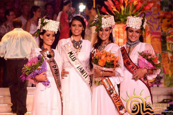 Camille - Election Miss Tahiti 2015