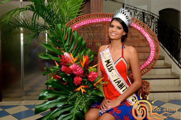 Camille - Election Miss Tahiti 2015