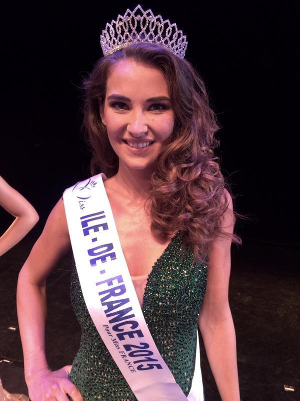 Camille - Election Miss Ile de France 2015