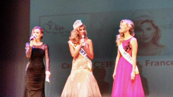 Camille - Election Miss Ile de France 2015