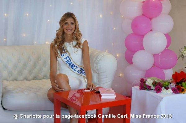 Camille - Séance de photos Carrefour Denain pour la lutte contre le cancer