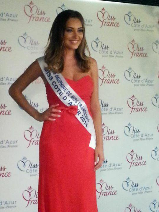 Camille - Election Miss Côte D'Azur 2015