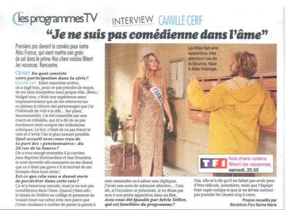 Camille - Actu