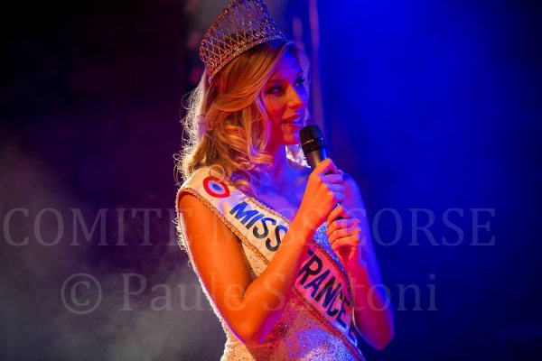 Camille - Election Miss Corse 2015