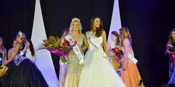 Camille - Election Miss Aquitaine 2015