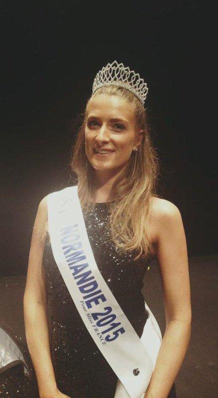 Camille - Election Miss Normandie et Midi Pyrénées 2015
