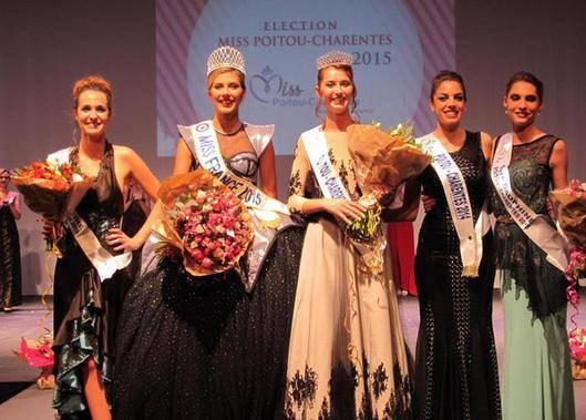 Camille - Election Miss Poitou Charente 2015