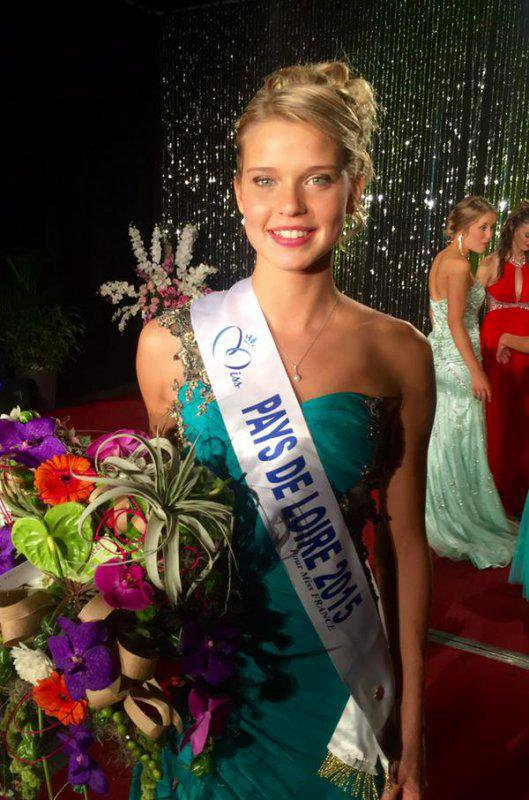 Camille - Election Miss Pays de Loire 2015