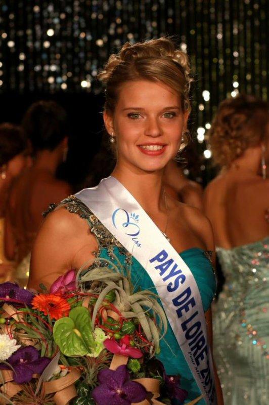 Camille - Election Miss Pays de Loire 2015