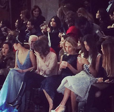 Iris, Sylvie, Flora, Malika - Fashion Week Paris