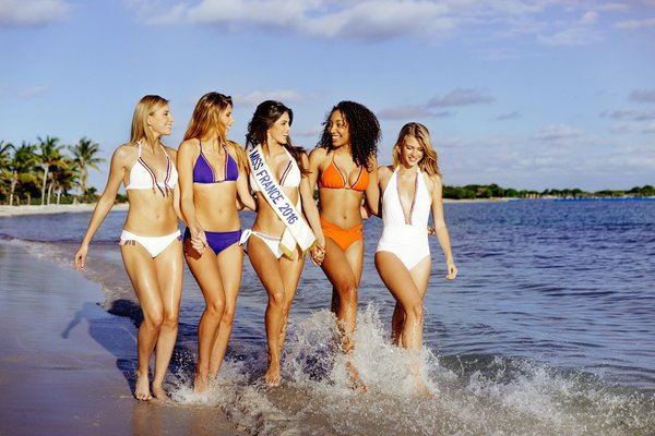 Croisière Miss France - Photoshoot officiel