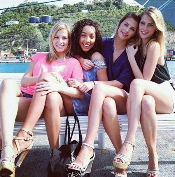 Voyage d'intégration Iris avec Sylvie et Camille et ses dauphines