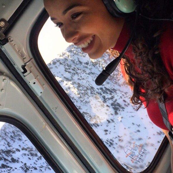Flora et Malika - Vacances au ski