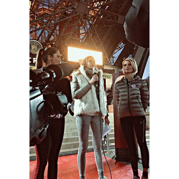 Iris Sylvie Laury - Course Tour Eiffel