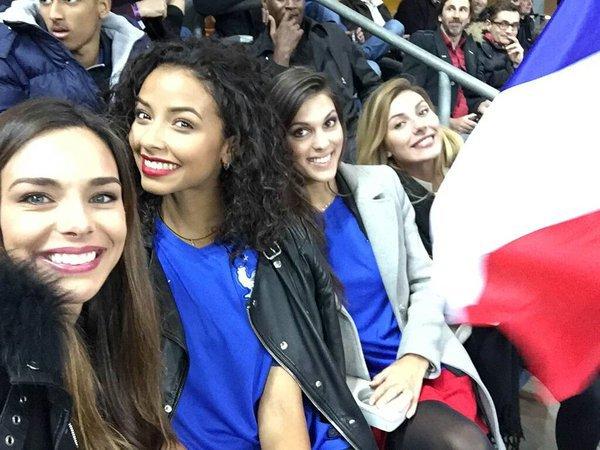 Iris Camille Flora Marine Sylvie - Stade de France