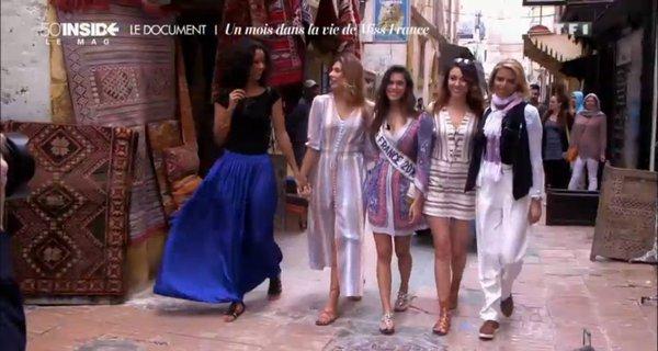 Sylvie Flora Iris Camille Delphine - Voyage au Maroc