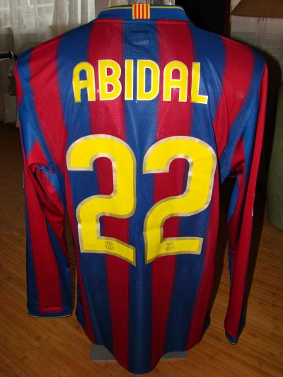 ERIC ABIDAL / FC BARCELONE