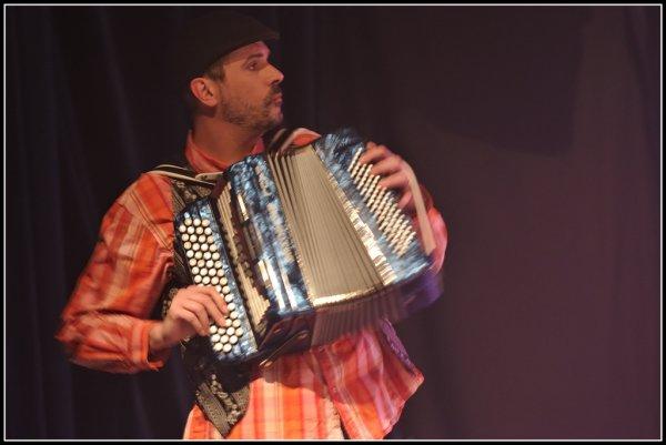 Un accordéoniste