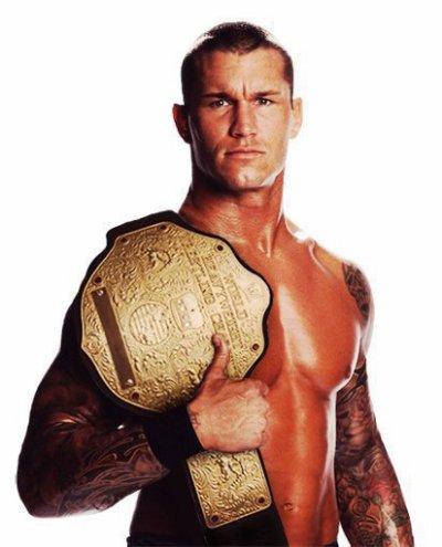 Randy Orton champion poid lourd