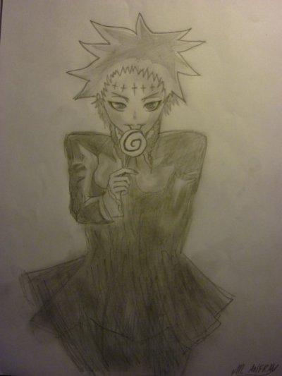 Mes dessins de D-gray Man