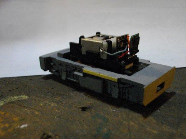 Réalisation du locotracteur Y 2401 , 1ère Partie