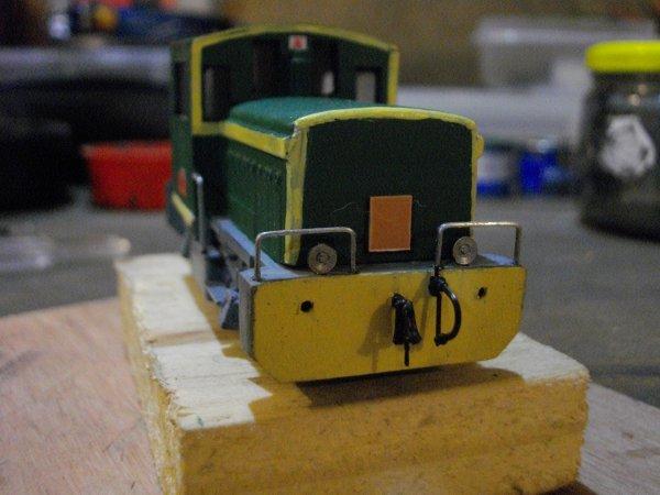 Réalisation du locotracteur Y 2401 , 2ème Partie