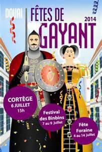 Fêtes de Gayant 2014