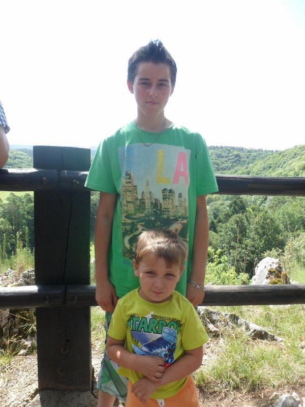 Mon frère et moi :P