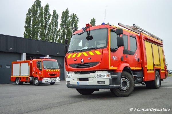 Sdis 62 (Pompiers du Pas-de-Calais) - Cis Bapaume