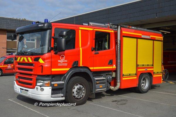 Sdis 59 (Pompiers du Nord) - Cis Lomme
