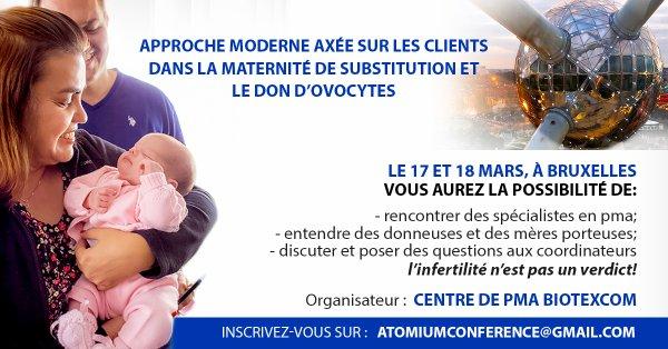 GPA et don d'ovocytes : conférence à Bruxelles le 17-18.03.18