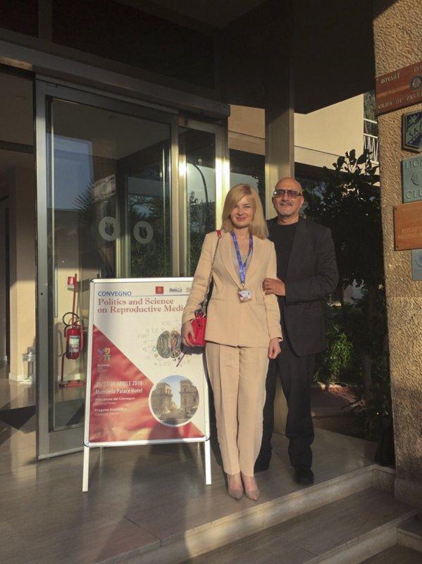 Conférence médicale en Italie
