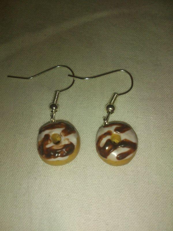 boucle d'oreille donnuts