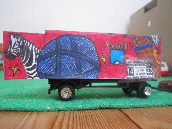 maquette  , ouverture de la caisse